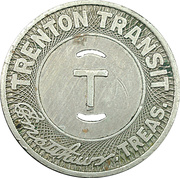 1 School Fare - Trenton Transit (Trenton, New Jersey) – reverse