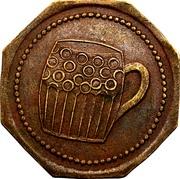 Token - Café Goergen-Zehren (Moutfort) – reverse