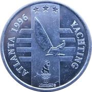 Token - Atlanta 1996 US Olympic Team, General Mills Sponsor (Yachting) – obverse