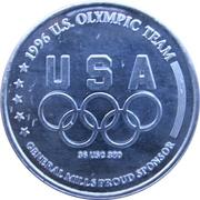 Token - Atlanta 1996 US Olympic Team, General Mills Sponsor (Yachting) – reverse