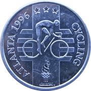 Token - Atlanta 1996 US Olympic Team, General Mills Sponsor (Cycling) – obverse