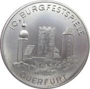 Token - 10th Castle Festival Querfurt – obverse