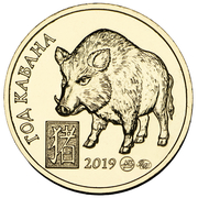 Token - MasterVision (Year of the Boar) – obverse