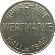Public Swimming Pool Token - Blankenloch (adult) – reverse