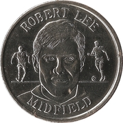 Token - Sainsbury's Official England Squad 1998 (Robert Lee) – obverse