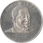 Esso Token - 1990 England World Cup Collection (John Barnes) – obverse