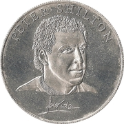 Esso Token - 1990 England World Cup Collection (Peter Shilton) – obverse