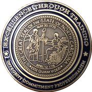 Medallion - Southwestern Community College Public Safety Training Center – reverse