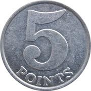 5 Points - Jenkinson's South Family Arcade – reverse