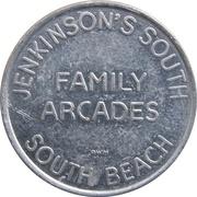 5 Points - Jenkinson's South Family Arcades – obverse