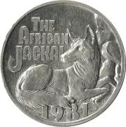 Mardi Gras Token - Zulu Social Aid and Pleasure Club, Inc. (The African Jackal) – obverse