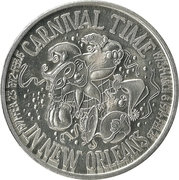 Mardi Gras Token - April Fool's Carnival Club (Carnival Time in New Orleans; New Orleans, Louisiana) – obverse