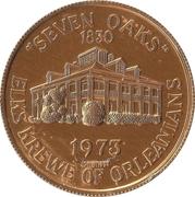 Mardi Gras Token - Elks Krewe of Orleanians (Seven Oaks; New Orleans, Louisiana) – obverse