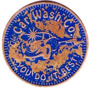 Car Wash Token - The Car Wash Co. (Fridley, Minnesota) – obverse