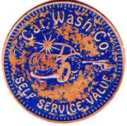 Car Wash Token - The Car Wash Co. (Fridley, Minnesota) – reverse
