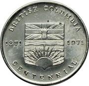Medal - British Columbia Centennial (A Century of Progress) – obverse