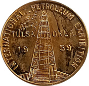 Token - International Petroleum Exposition (Williams Sand Diverter) – obverse