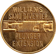 Token - International Petroleum Exposition (Williams Sand Diverter) – reverse