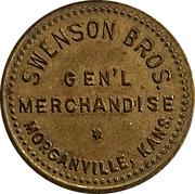 10 Cents - Swenson Bros. (Morganville, Kansas) – obverse