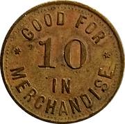 10 Cents - Swenson Bros. (Morganville, Kansas) – reverse