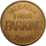 Parking Token - Midtown Plaza (Saskatoon) – reverse
