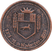 Token - Centennial of the City of Henderson – obverse