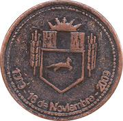 Token - Centennial of the City of Henderson – obverse