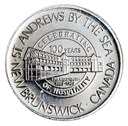2 Dollars - St. Andrews, New Brunswick (The Algonquin 1889-1989) – obverse
