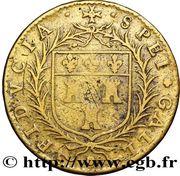 Token - Gilles Dupuy - Maire de Tours (Noblesse et Villes) – reverse