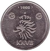 Token - KNVB (Wim Jonk) – reverse