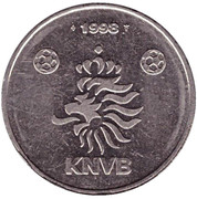 Token - KNVB (Patrick Kluivert) – reverse