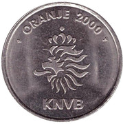 Token - KNVB Oranje 2000 (Frank Rijkaard) – reverse