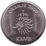 Token - KNVB Oranje 2000 (Pierre Van Hooijdonk) – reverse