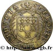 Token - Georges Catinat - Maire de Tours (Noblesse et Villes) – reverse