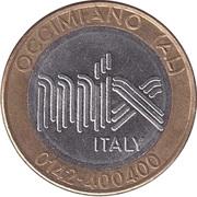 Car Wash Token - Mix Italy (Occimiano) – obverse