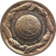 Medal - Piere Elliot Trudeau (Gold-tone) – reverse