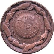 Medal - Piere Elliot Trudeau (Bronze-tone) – reverse