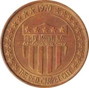 Medal - Rocky Mount, North Carolina, All-American City (Texaco) – obverse