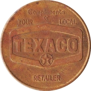 Medal - Rocky Mount, North Carolina, All-American City (Texaco) – reverse