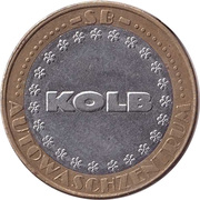 Car Wash Token - Kärcher Clean Park (Grabenweg 62) – obverse
