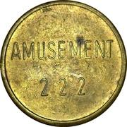 Token - Amusement 222 – reverse