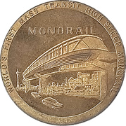 Token - Seattle World's Fair (Seattle, Washington) – obverse