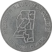 Token - Mississippi Public Junior Colleges – obverse