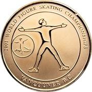 Medallion - 2001 World Figure Skating Championships (Single) – obverse