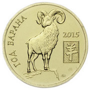 Token - Sviaz-Bank (Year of the Goat) – obverse