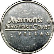 Token - Marriott's Newport Coast Villas – obverse