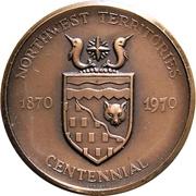 Medal - Northwest Territories Centennial – obverse