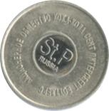 Vending Machine Token - Coca-Cola (Saint Petersburg) – obverse
