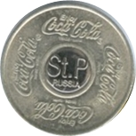 Vending Machine Token - Coca-Cola (Saint Petersburg) – reverse