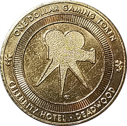 1 Dollar - Celebrity Hotel - Wild Bill Hickok (Deadwood, South Dakota) – reverse